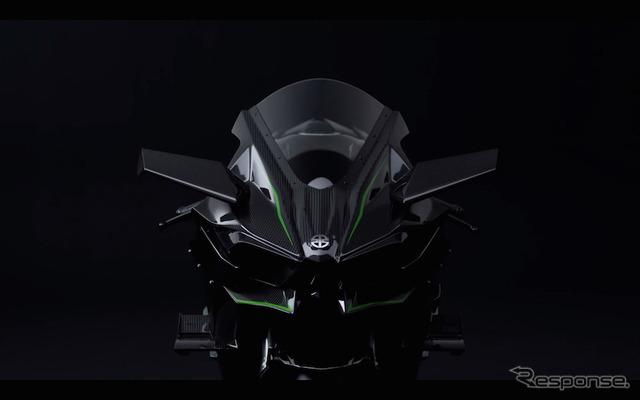 Kawasaki Ninja H2 teaser video won the METI Minister's award in the motion picture sentence consecutive Awards 2015