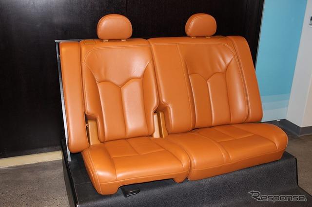 Magna International sedan for next generation rear-seat systems