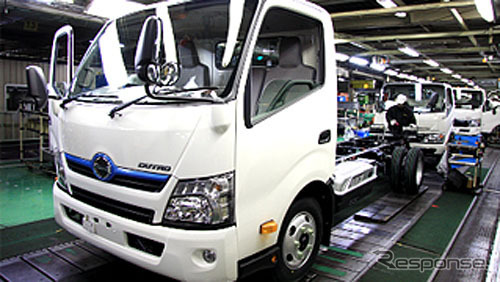 Hamura plant and Hino Motors