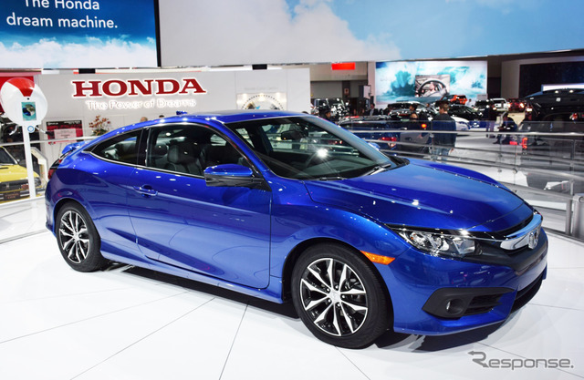 New model Honda Civic Coupe (Los Angeles motor show 15)
