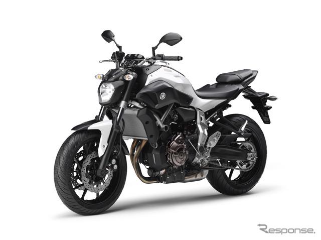 Yamaha MT-07 (reference image)