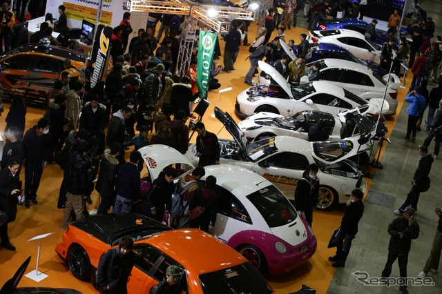 The venue of the Tokyo Auto Salon