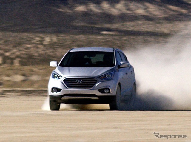 Hyundai Tucson & fuel cell