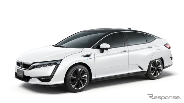 Honda's fuel cell vehicle, clarity fuel cell
