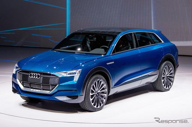 แนวคิดที่เหมาะสมในการอีตำบล Audi Quattro (ภาพอ้างอิง)