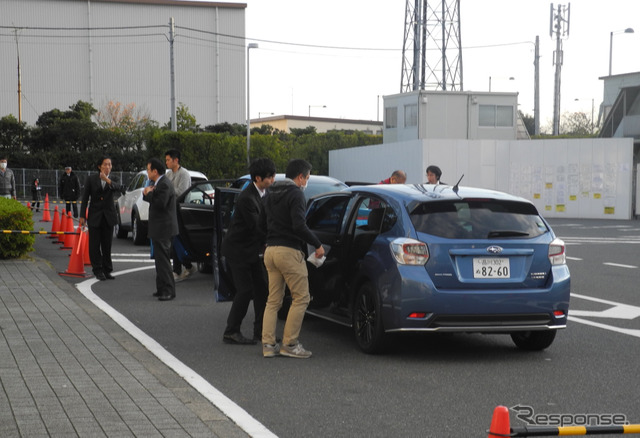Eco-car test drives