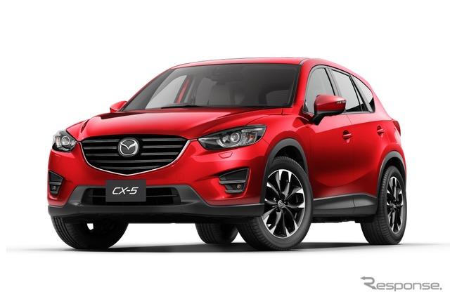 Upgraded Mazda CX-5