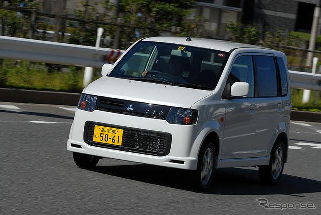 "[Impl ' 06: ทาคา Kinoshita ""Mitsubishi eK wagon"" รอบคอบ ทำ"
