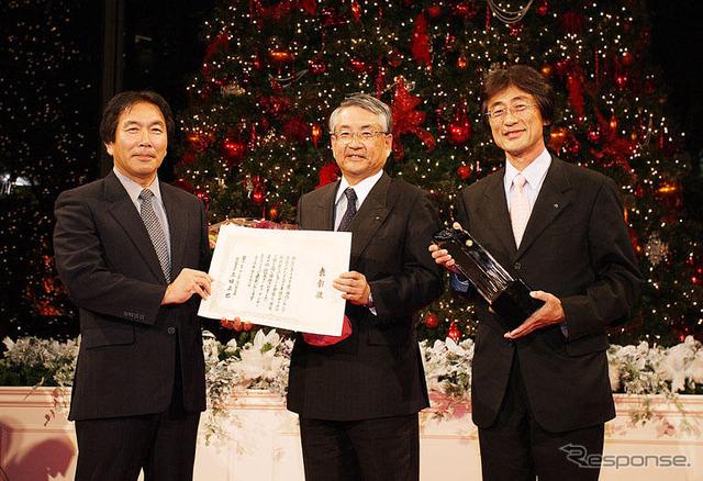 โยชิดะ moritaka หัวหน้าวิศวกรและกรรมการเล็กซัสโยชิดะเคน รางวัล Yerkes