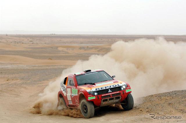 [ดาการ์ 07: วิวัฒนาการของ Mitsubishi Pajero MPR13 ความมั่นใจ