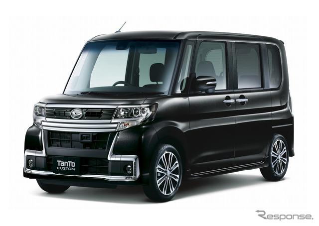 Daihatsu tanto custom