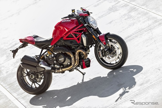 Ducati Monster 1200 R (reference image)