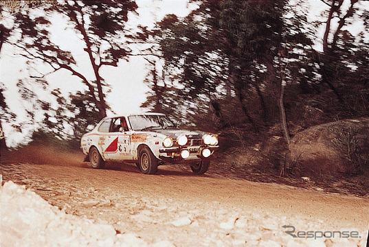 三菱WRCヒストリー】1974年、ラ...