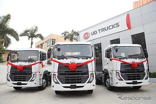 UDトラックス、中国に新ディーラ...