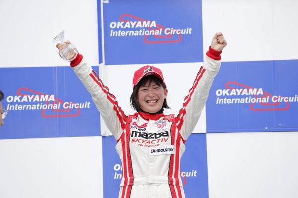 画像: マツダ女性レーサー育成プロジェクト、ロードスターパーティレースで2位表彰台獲得 | レスポンス(Response.jp)