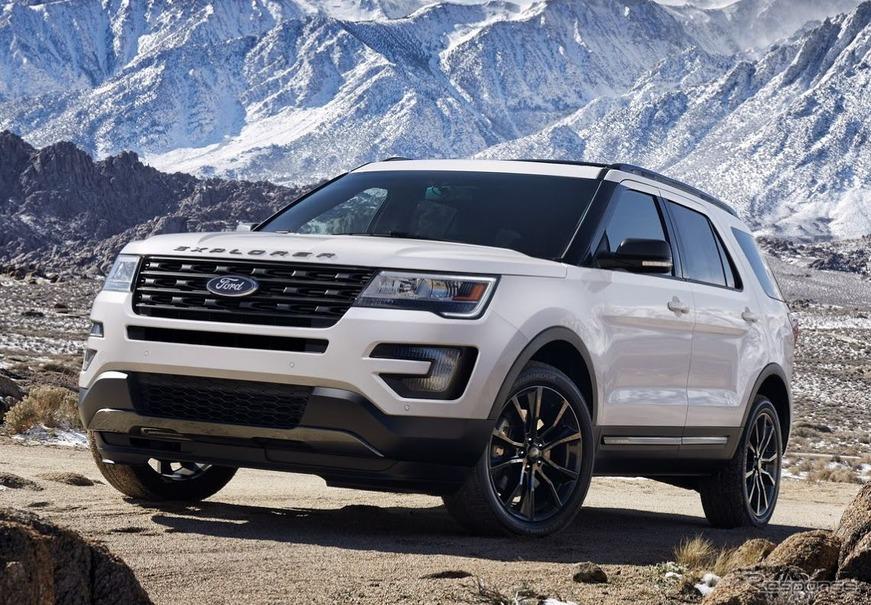 フォードのsuv車を買うなら、エクスプローラーがおすすめです。 