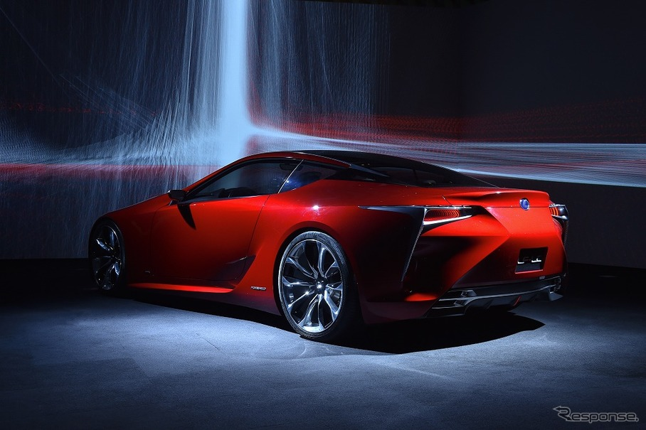 the view[for LEXUS LF-LC]