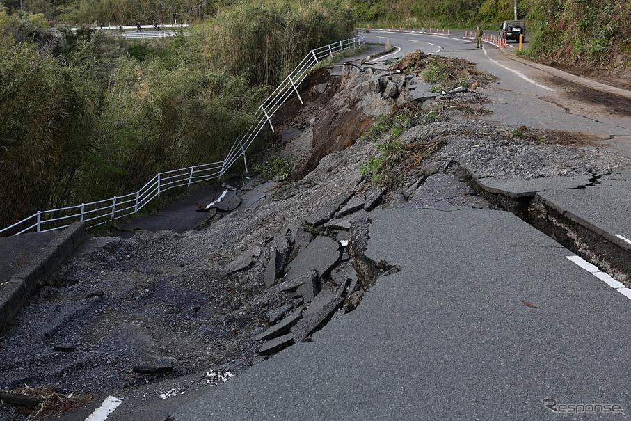 熊本地震で高速道路を一般開放へ…まず嘉島JCT~八代IC間