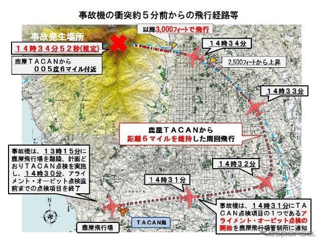 U-125墜落、標高の誤認識が原因…...