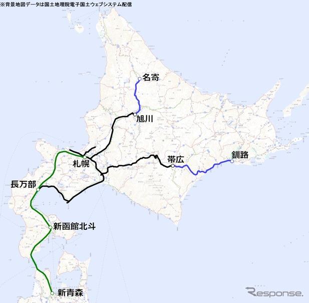 JR北海道の鉄道網、15年後は半減か…維持困難路線を正式発表 ...