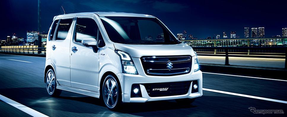 【クルマ】スズキ、新型ワゴンRを発表 33.4km/リットルの低燃費を実現