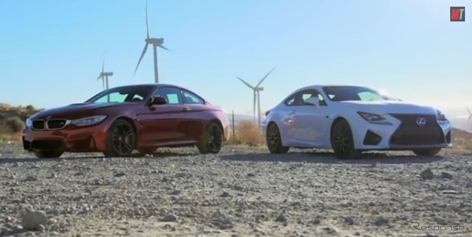 BMW bmw m4クーペ 動画 : response.jp