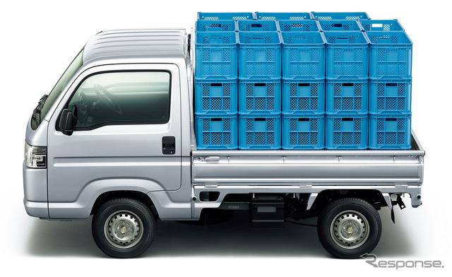 アクティ・トラック アクティ・トラック 前の画像 次の画像  ホンダ アクティトラック 一部改良