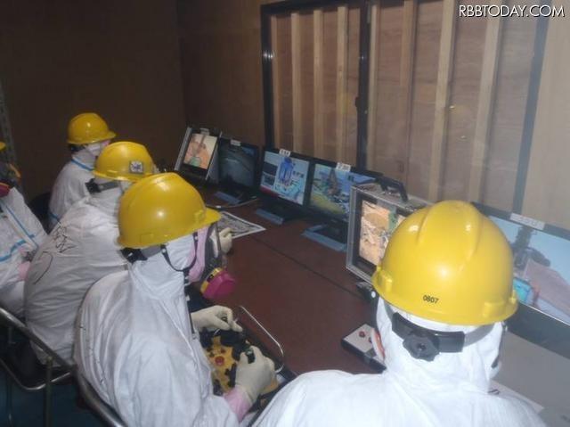[写真蔵]福島第一原発、ロボットや作業風景