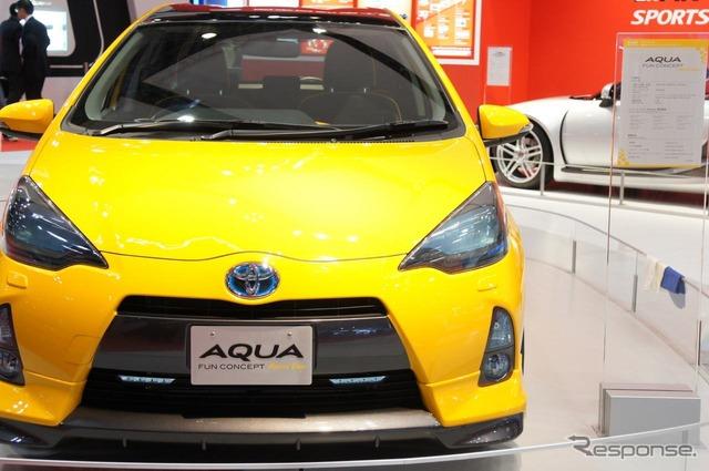関東自動車工業が手がけたトヨタアクア ファンコンセプト(東京モーターショ...  関東自動車工業