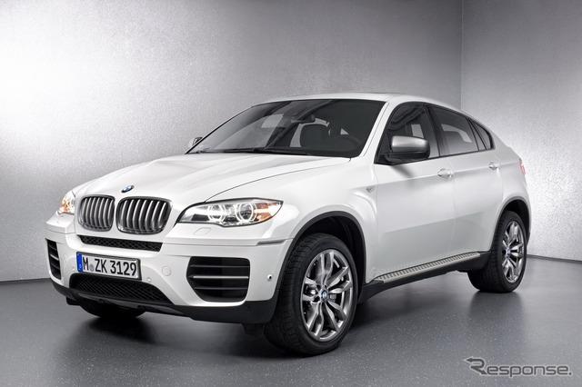 【ジュネーブモーターショー12】BMW X6 にMディーゼル…トリプルターボで過給