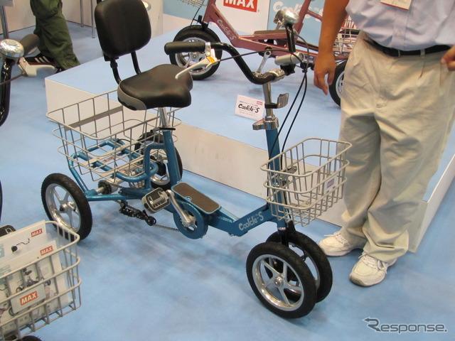 ... 自転車がシニアに人気 (写真