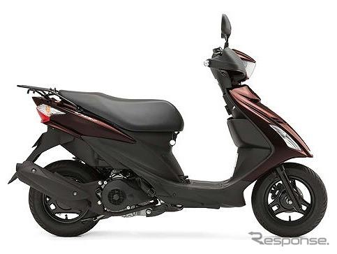 原付二種バイク スズキ「アドレスV125S」が進化