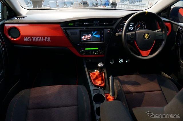 トヨタがジオンと新会社『ジオニックトヨタ』を設立 シャア専用オーリスを発売へ