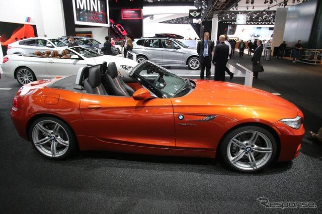【デトロイトモーターショー13】bmw Z4 に2013年モデル 156psの Sドライブ18iを追加(記事