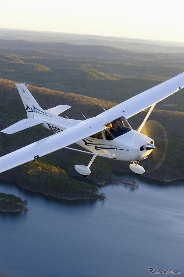 セスナ172スカイホーク航空機 《写真提供:Cessna》 セスナ172スカイホーク航空機 この