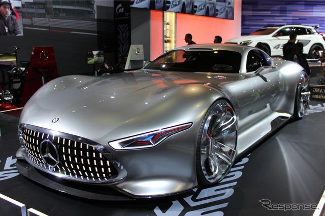 洛杉磯車展上賓士AMG GT之霸氣張揚力和奢侈感