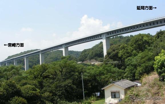 東九州自動車道、日向IC~都農IC間が3月16日に開通 2枚目の写真・画像