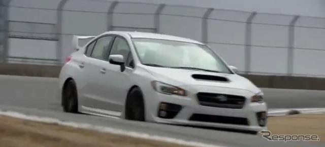 新型スバル WRX STI の試乗テスト映像を公開した豪『Car Advice』