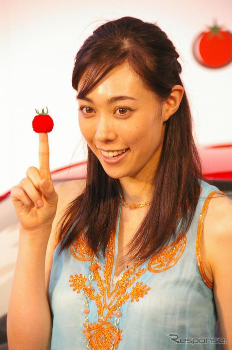 トマトの指サックと吹石一恵