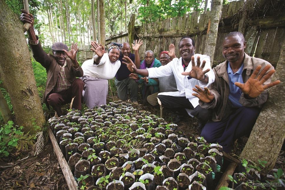 ケニアの森林保全