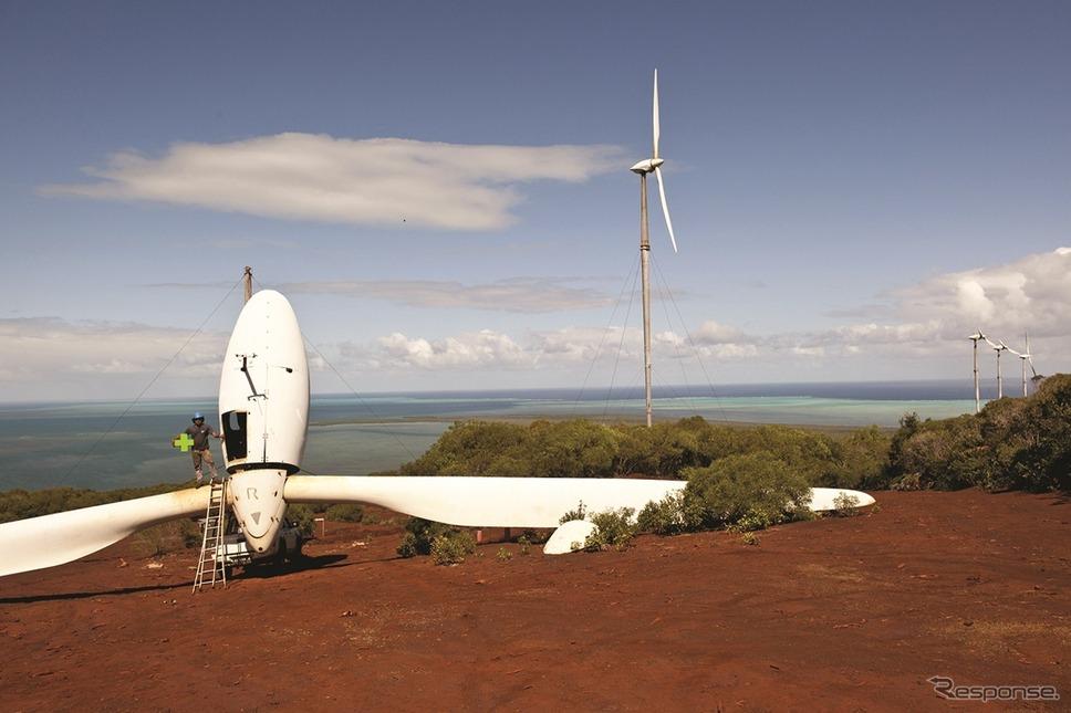 ニューカレドニアの風力発電
