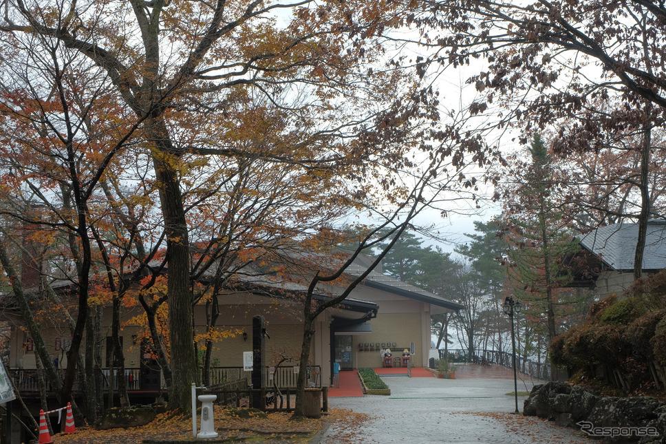 宮沢賢治記念館の外観。