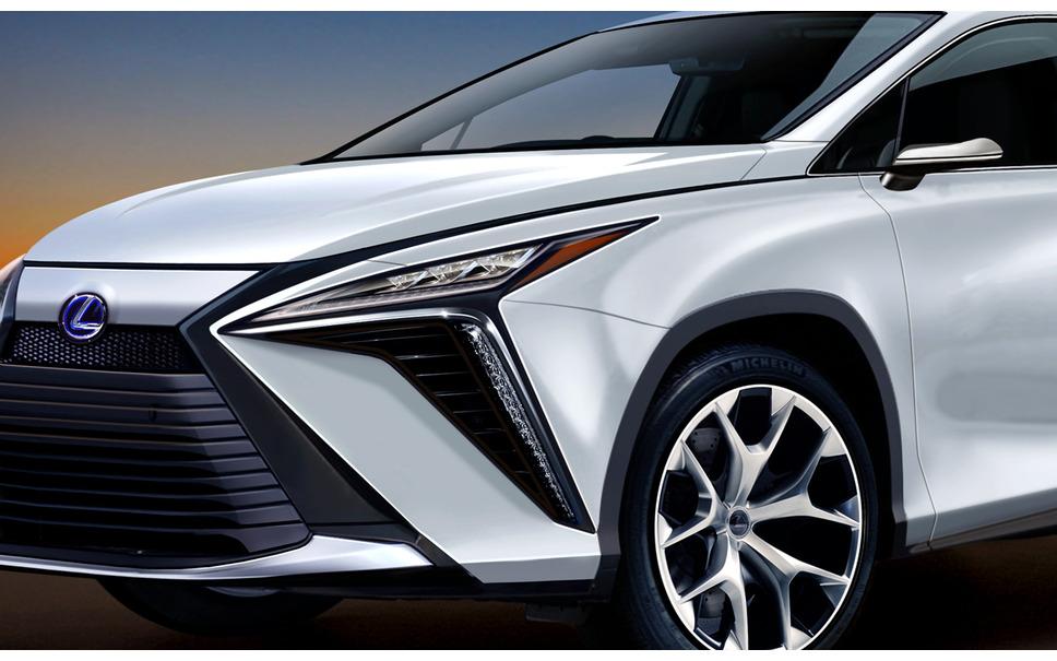 Próximo modelo de Lexus RX (CG esperado)