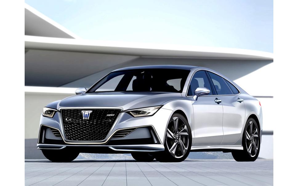 Toyota Crown Next modelo pronóstico CG
