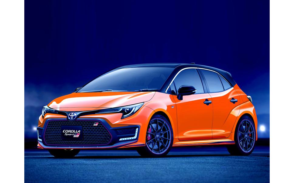 Toyota GR Corolla (provisional) CG esperado