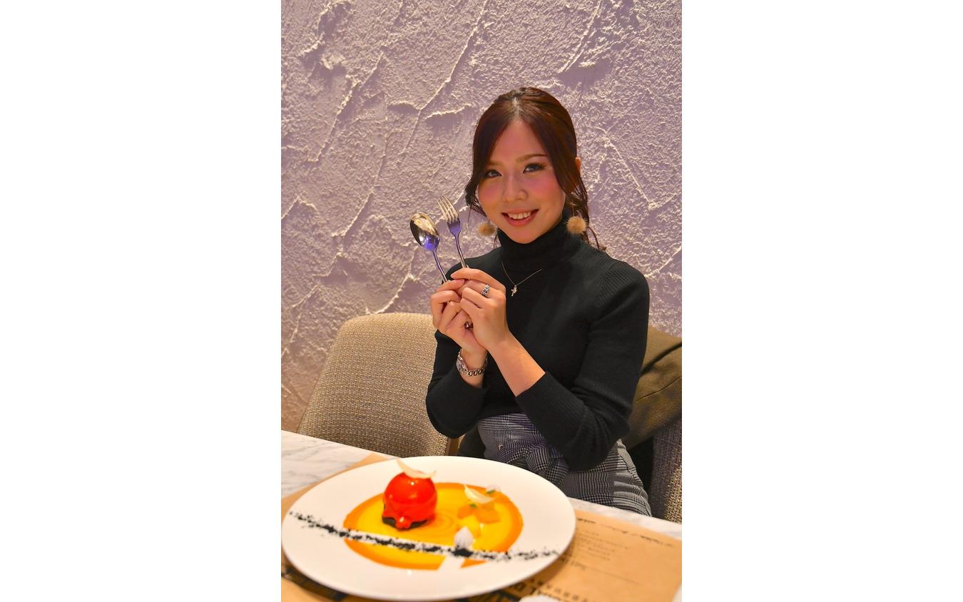 「Taste of Freedom」プレビューナイトに参加したモデルのSeriaさん。