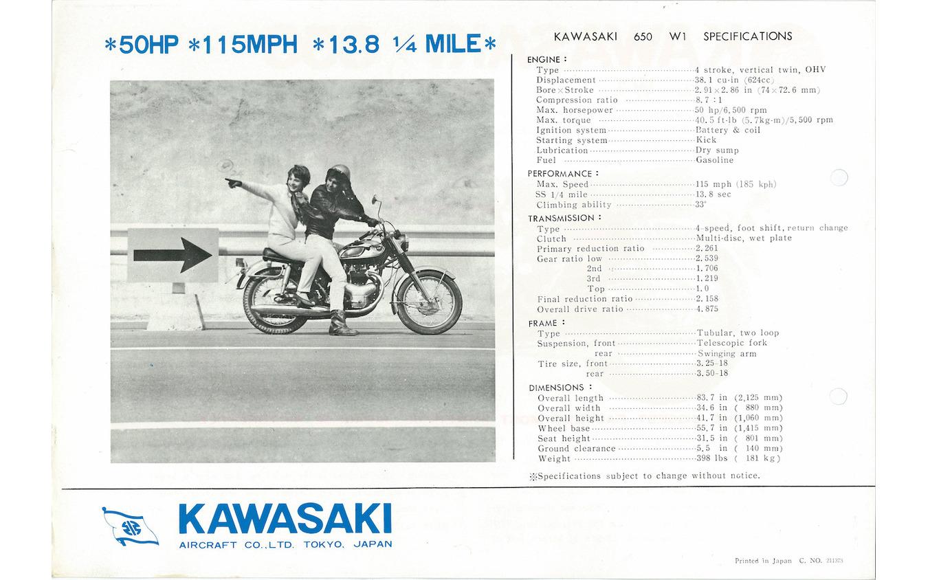 カワサキW1