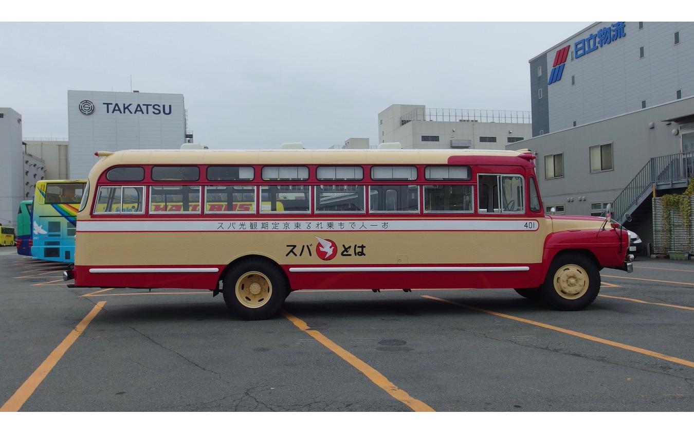 はとバス70周年、復刻塗装車