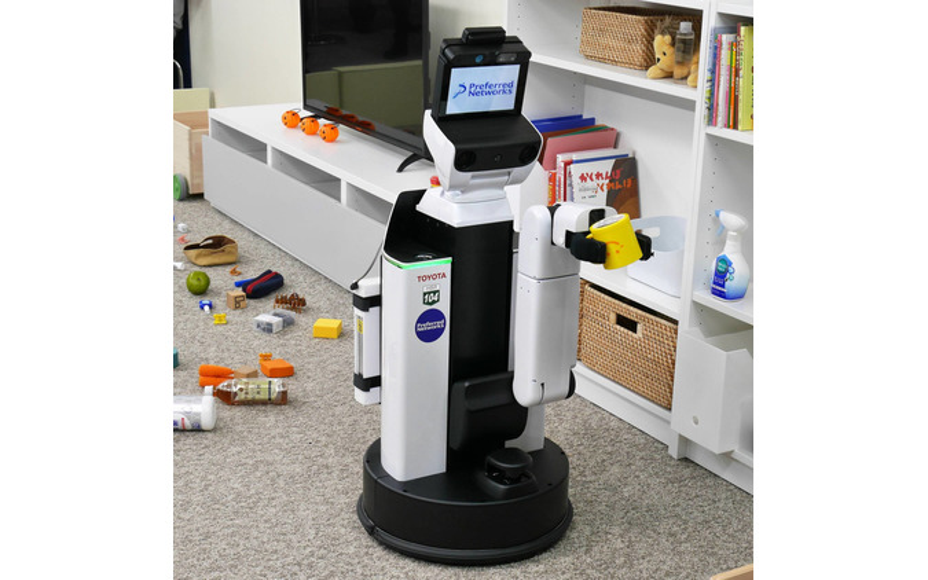 ロボットの筐体はトヨタHSRを利用