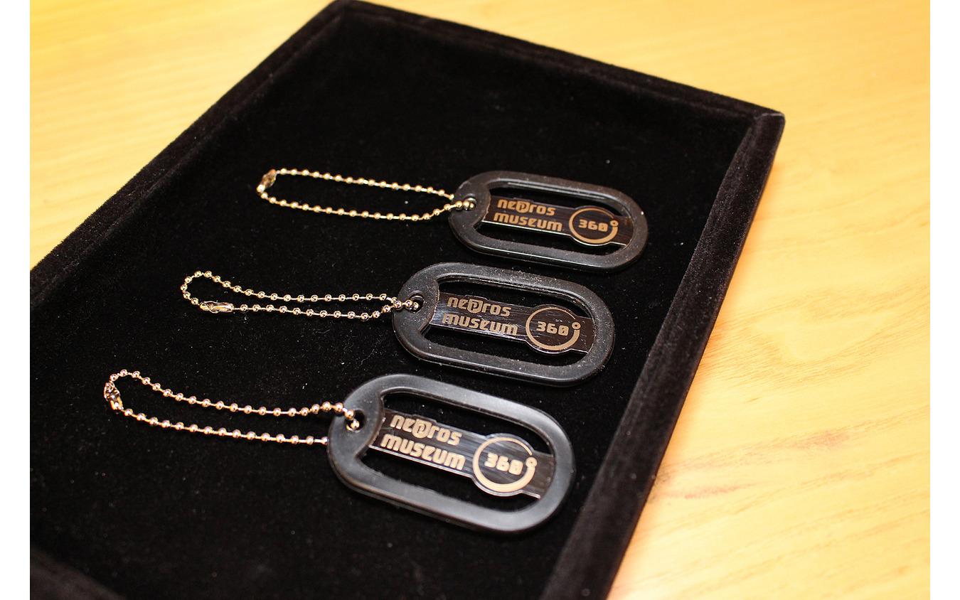 来場記念にアルミプレートタグがもらえ、それとは別に驚きのプレゼントが見学後にもらえる